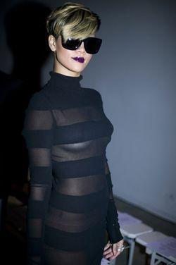 Rihanna-in-gray-ant-damn