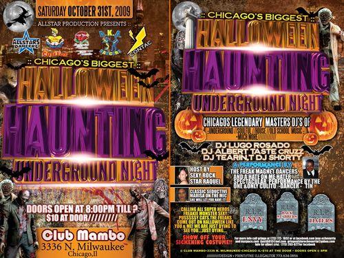 Halloween Event in Chicago w_DJ Lugo Rosado
